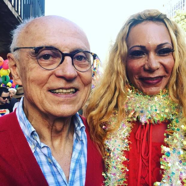 O vereador Eduardo Suplicy (Foto: Reprodução/Instagram)