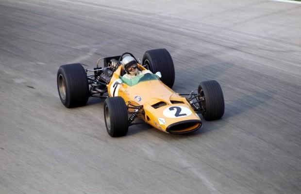 A primeira vitória da McLaren na F1 foi conquistada em 1968 (Foto: Divulgação)