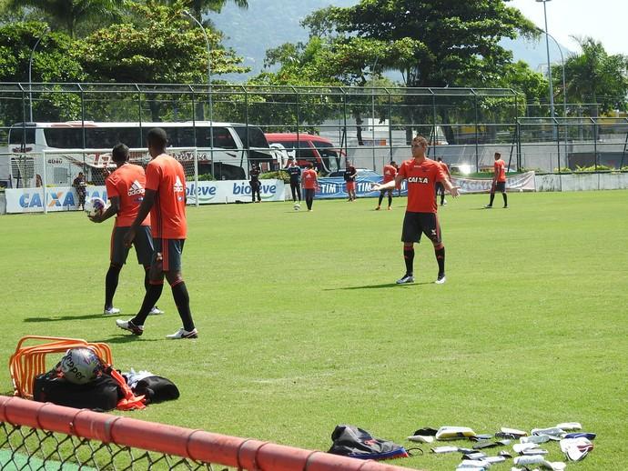Flamengo - treino (Foto: Fred Gomes)