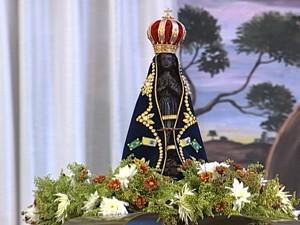 Nossa Senhora Aparecida (Foto: Reprodução/TV Integração)