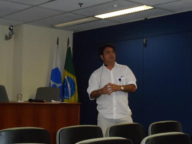 Frederico Cunha, do IBGE (Foto: Lilian Quaino/G1)