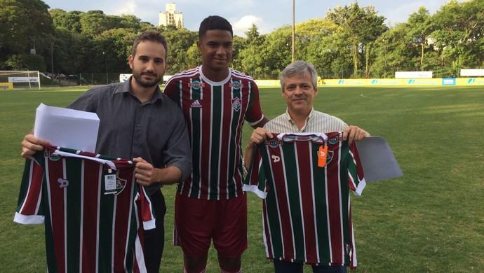 derlan zagueiro flu sub-20 torcedores internacional pedido de desculpas (Foto: Nathan de Lima / FluminenseFC)