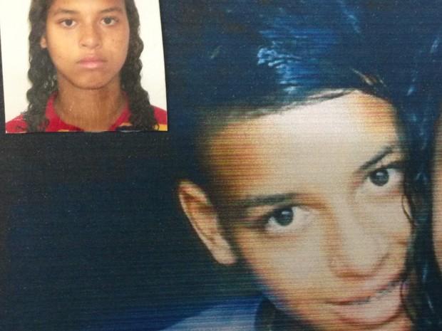 Thayná Guimarães, de 16 anos, está de cabelo curto. Conselho Tutelar acompanha o caso.  (Foto: Roselete Guimarães/Arquivo pessoal)