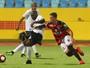 Atlético-GO supera expulsão, empata com Aparecidense e fica perto da semi
