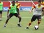 André Lima, Caíque e Bruno Ramires se reapresentam e treinam na Toca