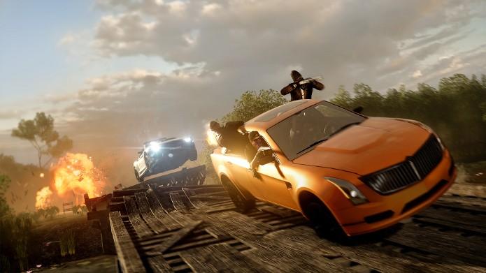 Battlefield Hardline ganhou primeiro vídeo do modo de perseguição Hotwire. (Foto: Divulgação)