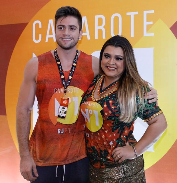 Preta Gil e o marido, Rodrigo Godoy (Foto: Divulgação)