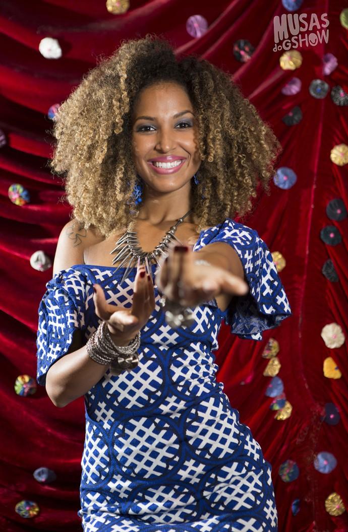 Erika Moura, a Globeleza, musa do Carnaval (Foto: Carol Caminha/Gshow)