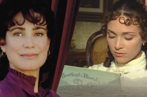 Regina e Gabriela Duarte, como Chiquinha Gonzaga (Foto: Reprodução)