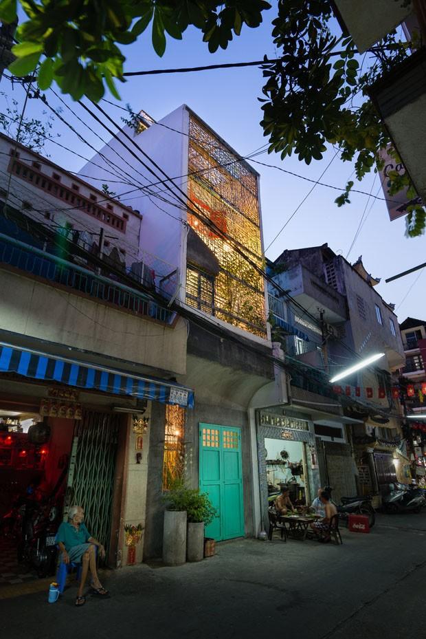Uma casa singular no Vietnã