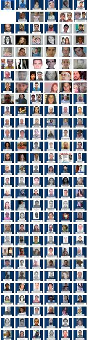 Todos desaparecidos da galeria da RBS TV (Foto: RBS TV/Divulgação)