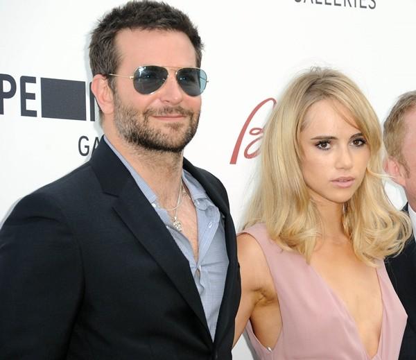 Bradley Cooper e Suki Waterhouse (Foto: Getty Images)