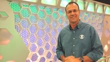 Cleiton Cesar é o novo narrador do Campeonato Catarinense (Valéria Martins/RBS TV SC)
