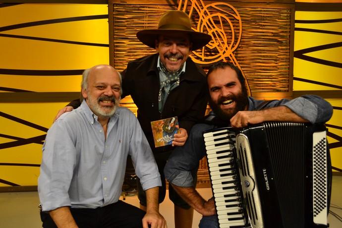 Pedrinho Figueiredo e Samuca do Acordeon (Foto: Gabriela Haas/RBS TV)