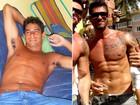 Diego, do 'BBB 14', ganhou 20 quilos com dieta de atum e batata doce