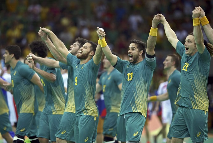 Polônia x Brasil, handebol, Olimpíada, Rio 2016 (Foto: Reuters)