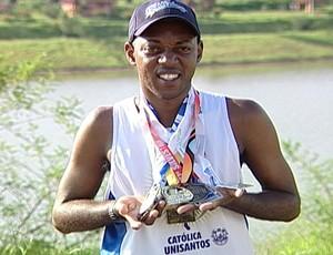 Valter Júnior participa pela 11ª vez da corrida (Foto: Reprodução/TV Integração)