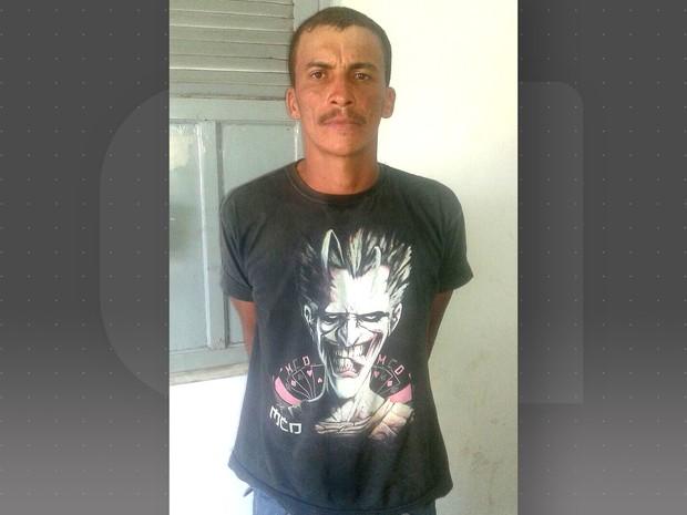 Alexandro Fidelis Borges foi preso por suspeita de estupro contra a filha (Foto: Divulgação/14º BPM)