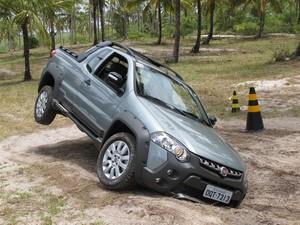 Fiat Strada Adventure 2014 (Foto: Rafael Miotto/G1)