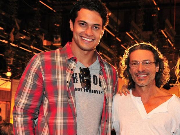Raphael Viana e Luiz Carlos Vasconcelos (Foto: TV Globo/Divulgação)