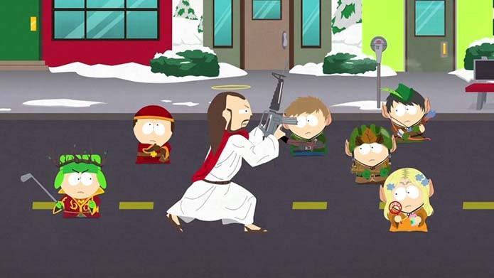 RPG de South Park é recheado de piadas infames, assim como a série (Foto: Reprodução)