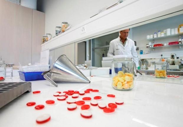 Área de pesquisa e desenvolvimento da empresa israelense Frutarom, que aposta em inovação para crescer no Brasil (Foto: Divulgação)