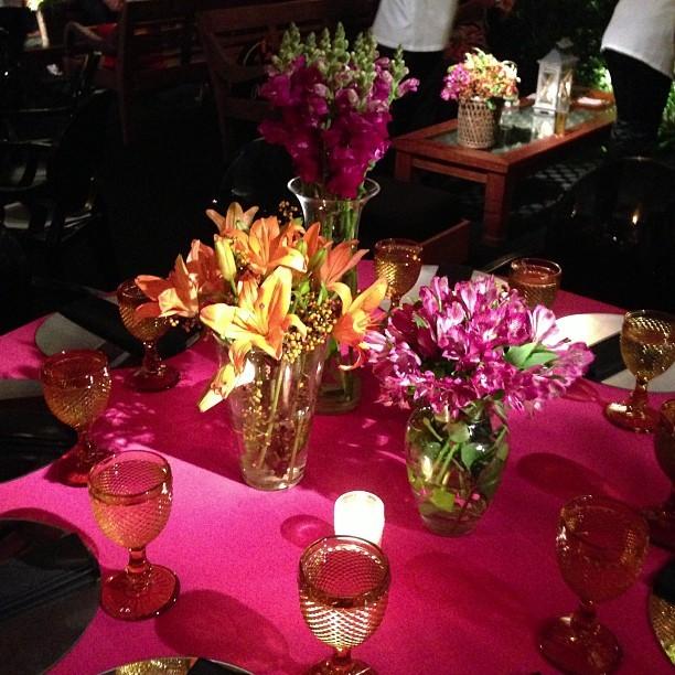 Decoração da festa postada por Antônia Frering (Foto: Reprodução Instagram)