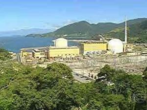 Angra 1, localizada no sul do RJ (Foto: Reprodução/ TV Globo)