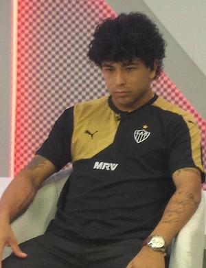Luan Atlético-MG, entrevista (Foto: Lucas Borges)