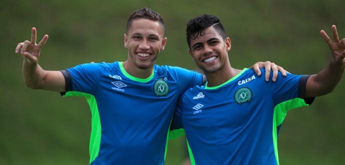 Lucas Marques Bryan Chapecoense (Foto: Sirli Freitas / Chapecoense)
