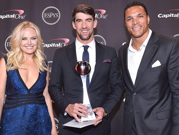 Phelps prêmio  ESPY Awards (Foto: Getty Images)