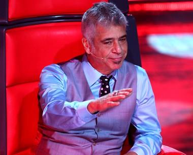 Lulu Santos aperta o botão de sua cadeira e escolhe Gabriel (Foto: The Voice Brasil/TV Globo)