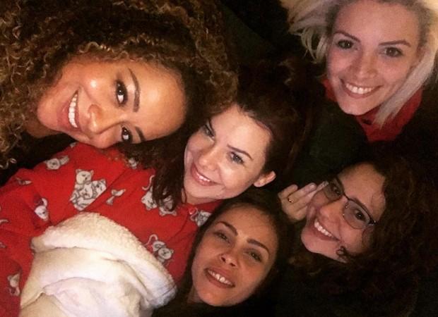 Aretha Oliveira, Fernanda Souza, Gisele Frade, Francis Helena e Renata Del Bianco (Foto: Reprodução/Instagram)