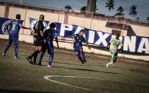 Confiança tem tropeço como visitante e perde para Estanciano (Foto: Fillipe Araújo/ADC)