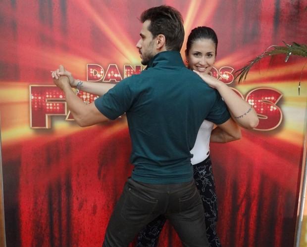 Julio Rocha E Carol Vieira  Foto  Doming  O Do Faust  O   TV Globo