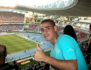 Martinez jogo Botafogo (Foto: Reprodução / Facebook Oficial)