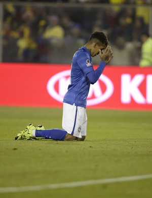 Firmino Brasil x Colômbia Copa América (Foto: EFE)