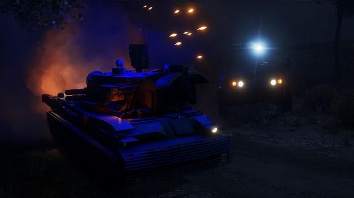 Mapas noturnos de Battefield 4 mudam a dinâmica dos combates (Foto: Reprodução/BF4Central)