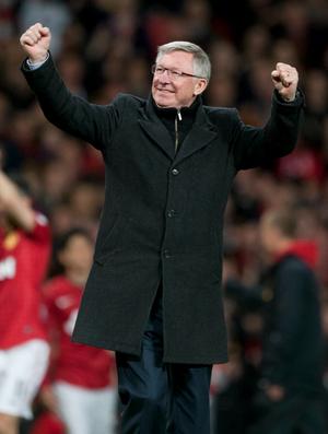 Alex Ferguson Manchester United (Foto: AP)