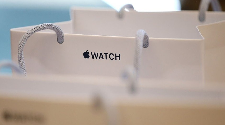 Sacola da Apple: empresa não explica a razão do pedido (Foto: Reprodução)