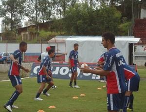 Treino do Guaratinguetá (Foto: Comunicação Guaratinguetá Futebol/ Divulgação)