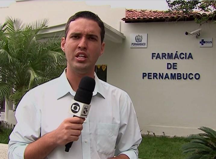 Repórter Magno Wendel (Foto: Reprodução/ TV Asa Branca)
