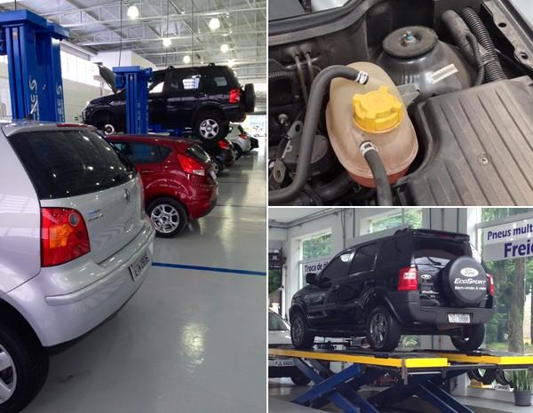 Revisões de carros novos podem ficar caras para quem não se informa antes (Foto: Denis Marun)