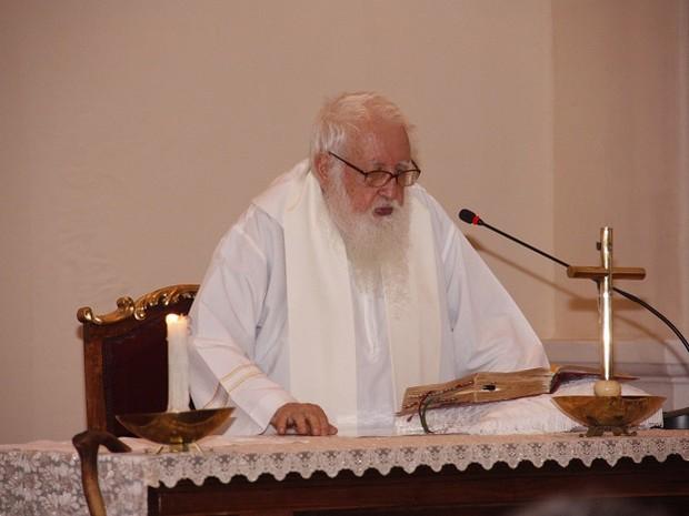Padre Florêncio Lecchi, do Colégio Diocesano, morre aos 86 anos (Foto: Colégio Diocesano / Arquivo Pessoal)