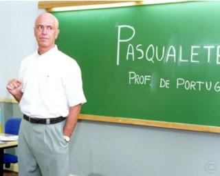 Professor e diretor Pasqualete (Foto: Renato Neto/ TV Globo)