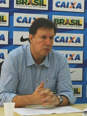 José Antonio Martins Fernandes, o Toninho, e Antonio Carlos Gomes, CABt (Foto: Marcos Guerra)