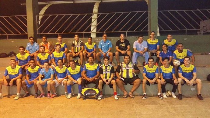 Equipe São Lucas disputa a final da Copa RO de Futsal (Foto: São Lucas/ Divulgação)