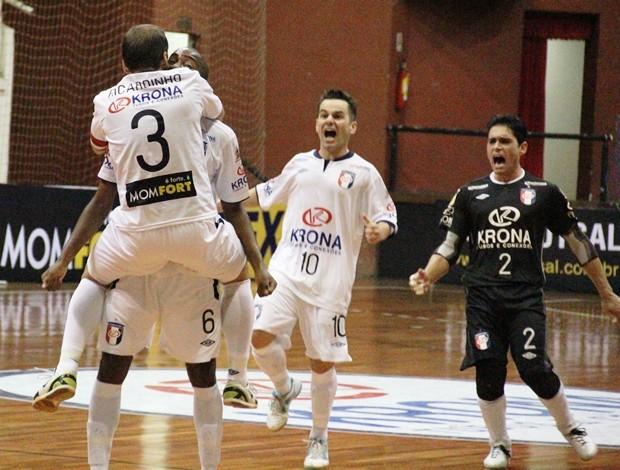 009c1dcd19 Joinville Atlântico Erechim Liga Futsal (Foto  Manolo Quiróz Divulgação)