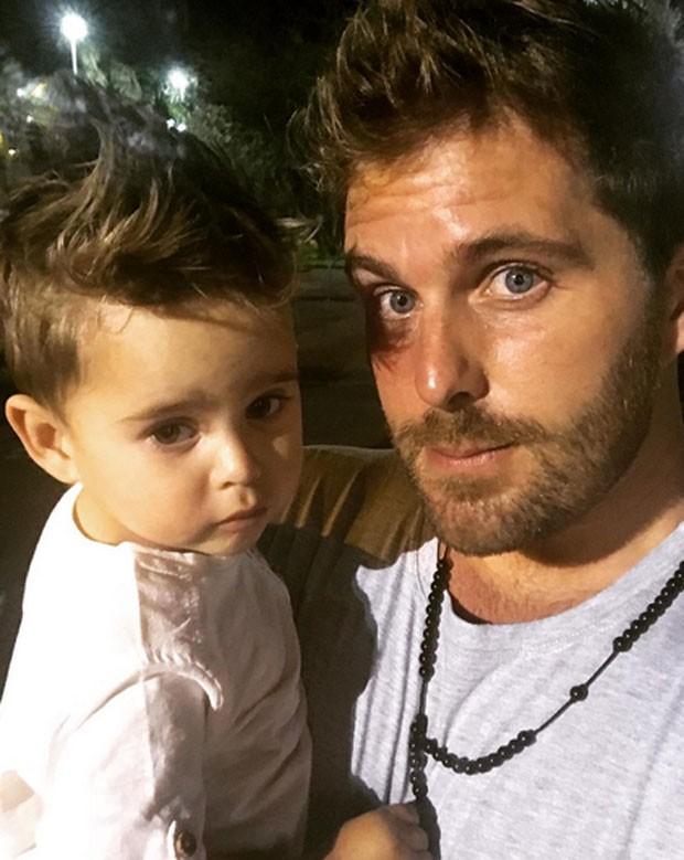 Thiago Gagliasso e Gabriel (Foto: Reprodução)