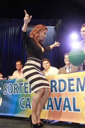 Viviane Araújo em evento no Rio (Foto: Isac Luz/ EGO)